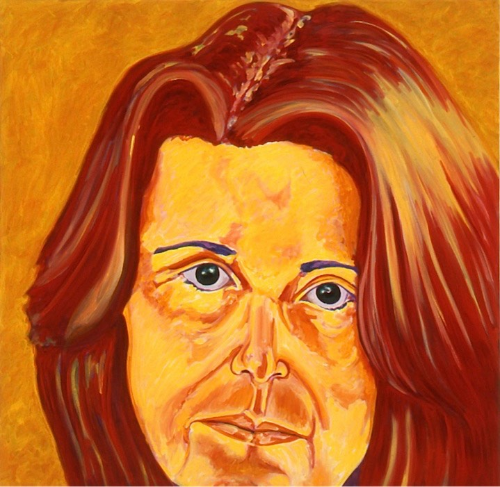 ©2004 Jan Aronson Self Portrait #2 Oil on Canvas 24x18